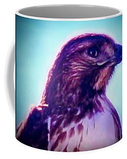 Ak-chin Red-tailed Hawk Portrait Coffee Mug