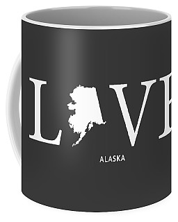 Coffee Mug featuring the mixed media Ak Love by Nancy Ingersoll