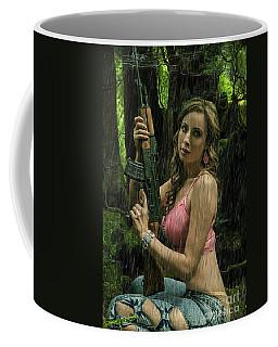 Ak47 In The Rain Coffee Mug