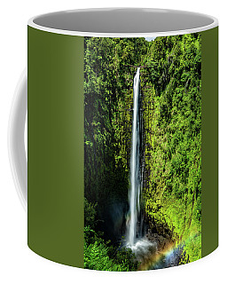 Akaka Falls With Rainbow Coffee Mug