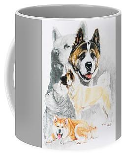 Akita Ken Revamp Coffee Mug