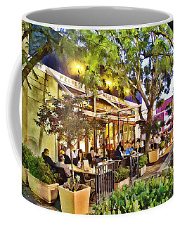 Coffee Mug featuring the photograph Al Fresco Dining by Chuck Staley