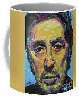 Al Pacino Coffee Mug by Robert Phelps