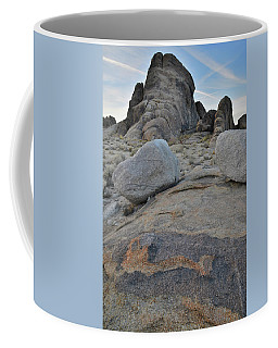Alabama Hills Boulders At Dusk Coffee Mug