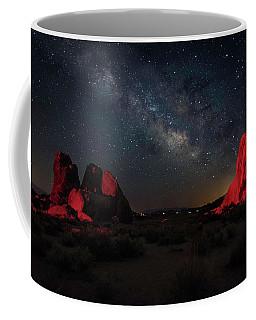Alabama Hills Milky Way Redlight Coffee Mug