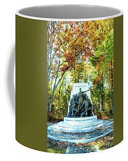 Alabama Monument At Gettysburg Coffee Mug