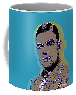 Alan Turing Pop Art Coffee Mug