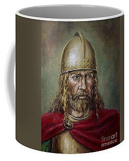 Alaric The Visigoth Coffee Mug by Arturas Slapsys