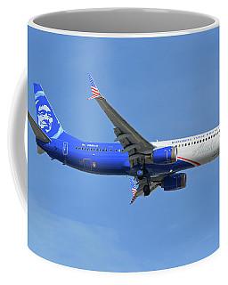 Alaska Boeing 737-900 N265ak Honoring Those Who Serve Phoenix Sky Harbor November 12 2017 Coffee Mug