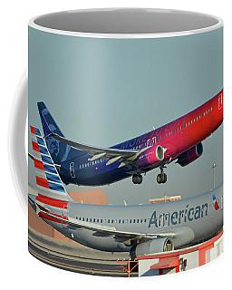 Alaska Boeing 737-900 N493as More To Love Phoenix Sky Harbor October 27 2017 Coffee Mug