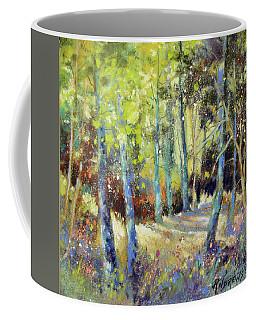 Alaska Dapple Coffee Mug by Rae Andrews