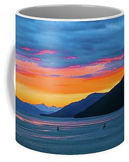 Alaska Fishermans Sunset Coffee Mug