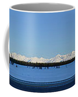 Alaska Highway Panorama Coffee Mug