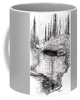 Alaska Pond Coffee Mug