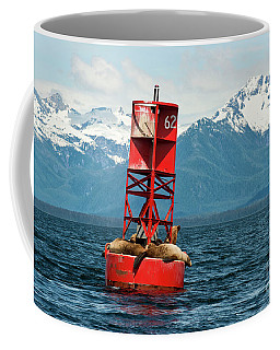 Alaska Sea Lions Coffee Mug