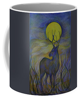 Coffee Mug featuring the drawing Alaska Stories. Part Four by Anna  Duyunova