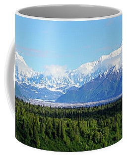 Alaskan Denali Mountain Range Coffee Mug