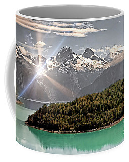 Alaskan Mountain Reflection Coffee Mug
