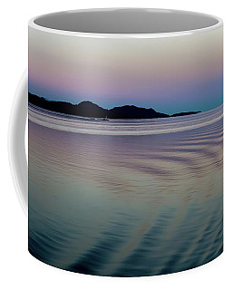 Alaskan Sunset At Sea Coffee Mug