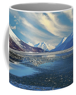 Alaskan Winter Landscape Coffee Mug