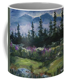 Alaskan Woods Coffee Mug by Yulia Kazansky