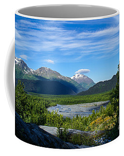 Alaska's Exit Glacier Valley Coffee Mug