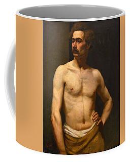 Albert Edelfelt Male Model Coffee Mug
