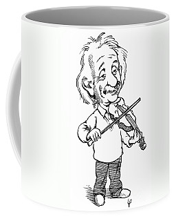 Albert Einstein (1879-1955) Coffee Mug