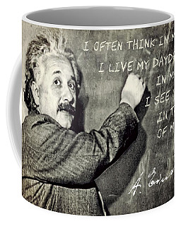 Albert Einstein, Physicist Who Loved Music Coffee Mug