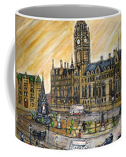 Albert Square Manchester 1900 Coffee Mug