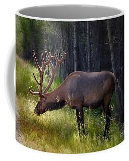 Alberta Elk  Coffee Mug by Elaine Manley
