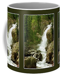 Alberta Falls In Colorado Coffee Mug by Krista-