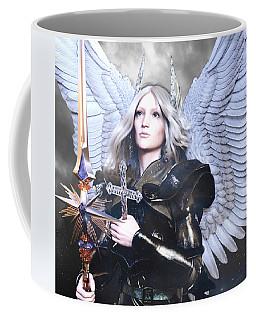 Albino Angel 88 Coffee Mug by Suzanne Silvir