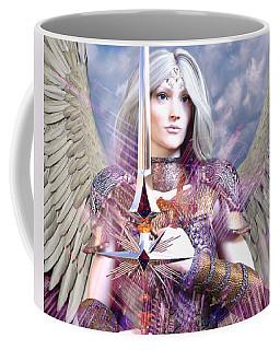 Albino Angel4 Coffee Mug by Suzanne Silvir