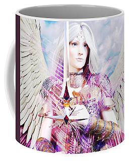 Albino Guardian Angel Coffee Mug by Suzanne Silvir
