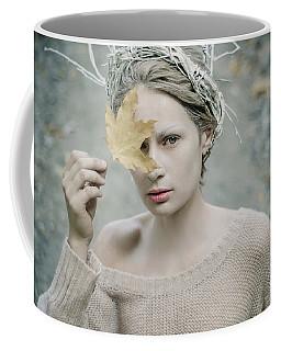 Albino In Forest. Prickle Tenderness Coffee Mug