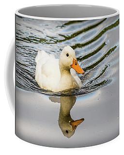Albino Mallard Coffee Mug