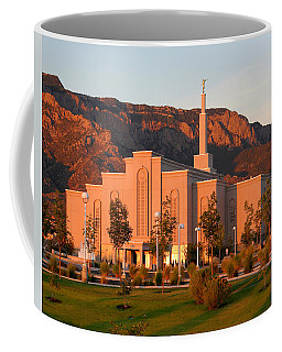Albuquerque Lds Temple At Sunset 1 Coffee Mug