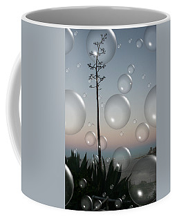 Alca Bubbles Coffee Mug by Holly Ethan