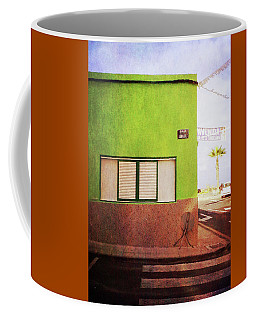 Alcala Green Corner Coffee Mug