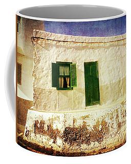 Alcala White And Green House Coffee Mug