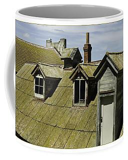 Alcaltraz Roofline Coffee Mug by R Thomas Berner