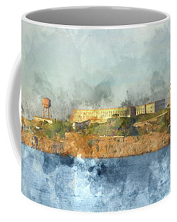 Alcatraz Island In San Francisco California Coffee Mug
