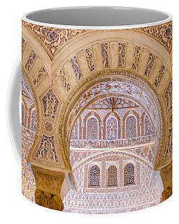 Alcazar Of Seville - Unique Architecture Coffee Mug by Andrea Mazzocchetti