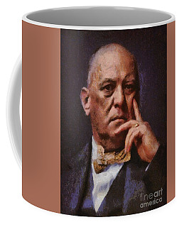Aleister Crowley, Infamous Occultist Coffee Mug