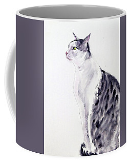 Alert Cat Coffee Mug