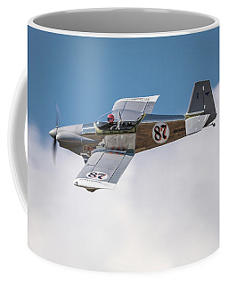Coffee Mug featuring the photograph Alex Alverez Friday Morning At Reno Air Races 5x7 Aspect by John King