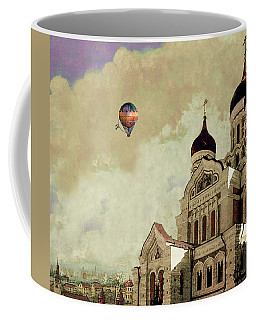 Alexander Nevsky Cathedral In Tallin, Estonia, My Memory. Coffee Mug by Jeff Burgess