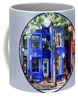 Alexandria Va - Colorful Street Coffee Mug