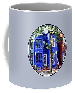 Alexandria Va - Colorful Street Coffee Mug